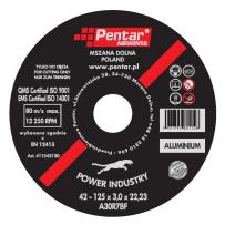 Tarcza Power Industry – Typ 42 – Metale nieżelazne, Aluminium