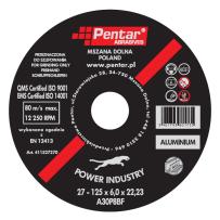 Tarcza Power Industry – Typ 27 – Metale nieżelazne, Aluminium